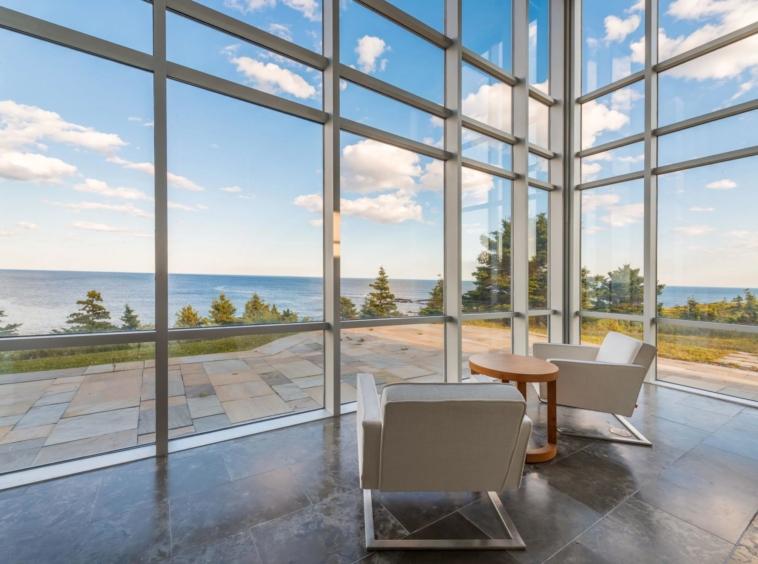 Chef-d'œuvre contemporain avec une vue incroyable sur l'océan - Nouvelle-Écosse