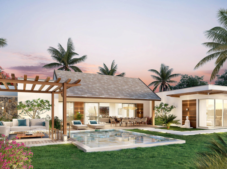 GRAND BAIE - VILLA PDS LUMINEUSE ET MODERNE - 3 CHAMBRES - ILE MAURICE
