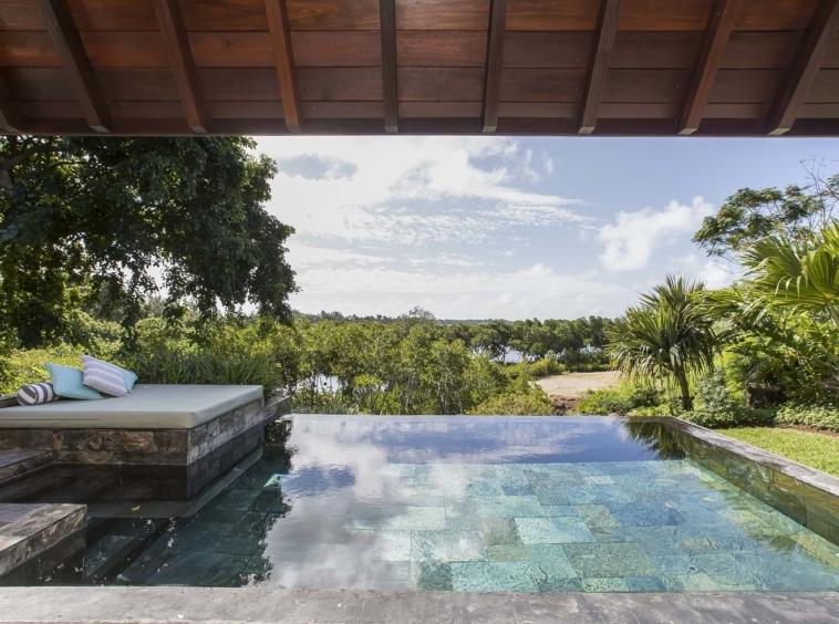 Superbe villa Four Seasons d'un style architectural contemporain