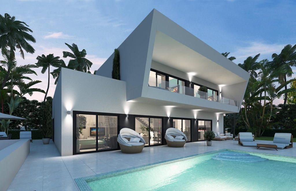 Marbella Construction moderne et exclusive | énergie solaire Costa Del Sol