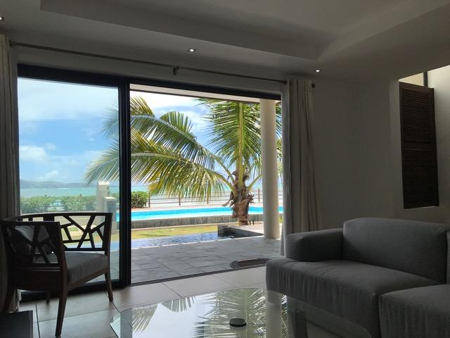 Villa pied dans l'eau à Bain Boeuf à vendre dans un complexe sécurisé