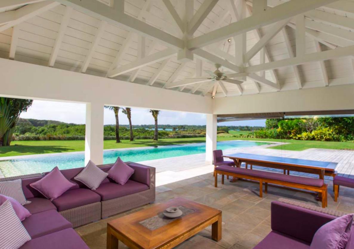 5 chambres vue imprenable sur le golf et le lagon|Villa de luxe dans le plus beau domaine de l'Île Maurice|