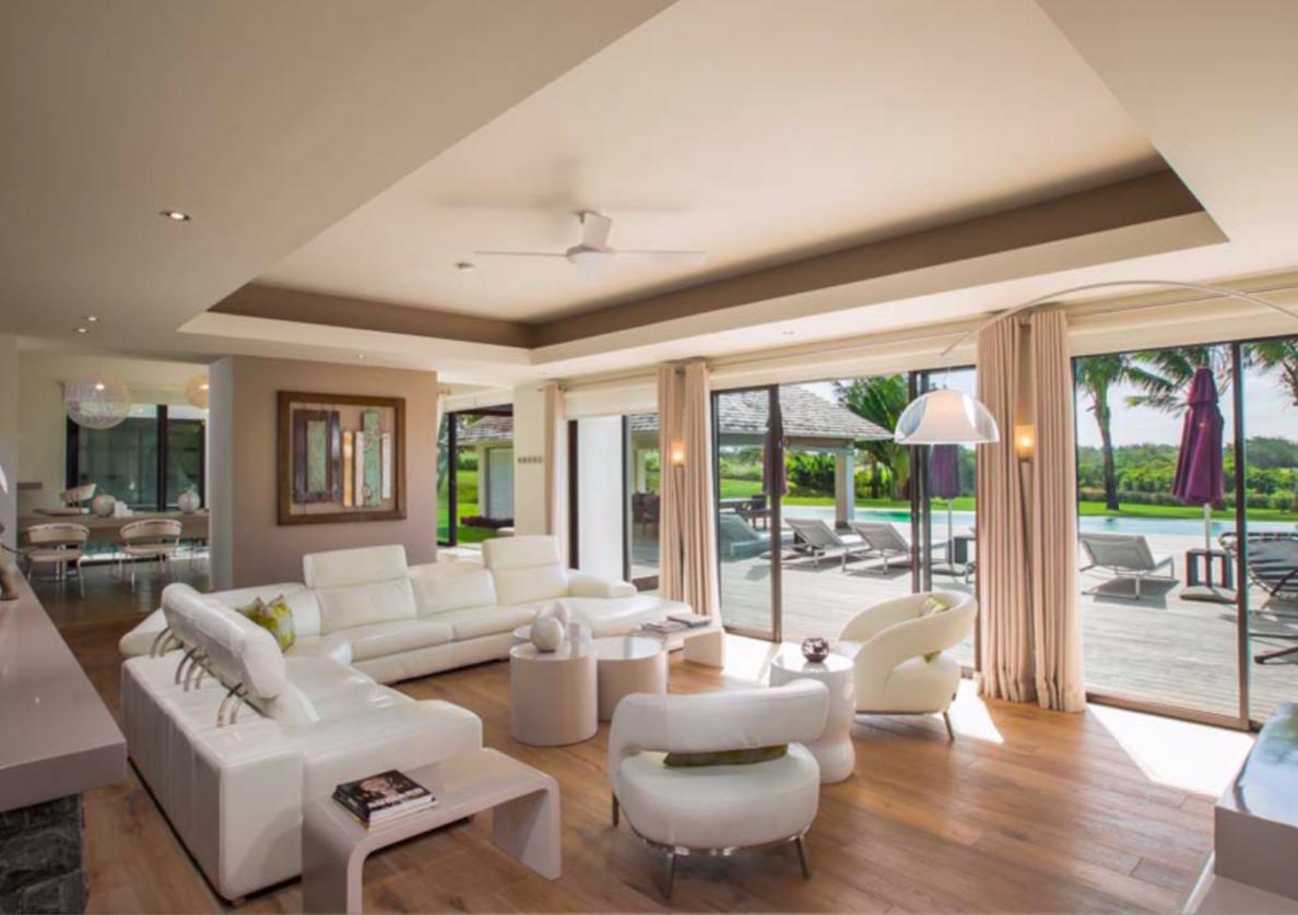 5 chambres vue imprenable sur le golf et le lagon|Devenez propriétaire d'une Belle Demeure de rêve dans le plus beau domaine de l'Île Maurice Villa de 600m2