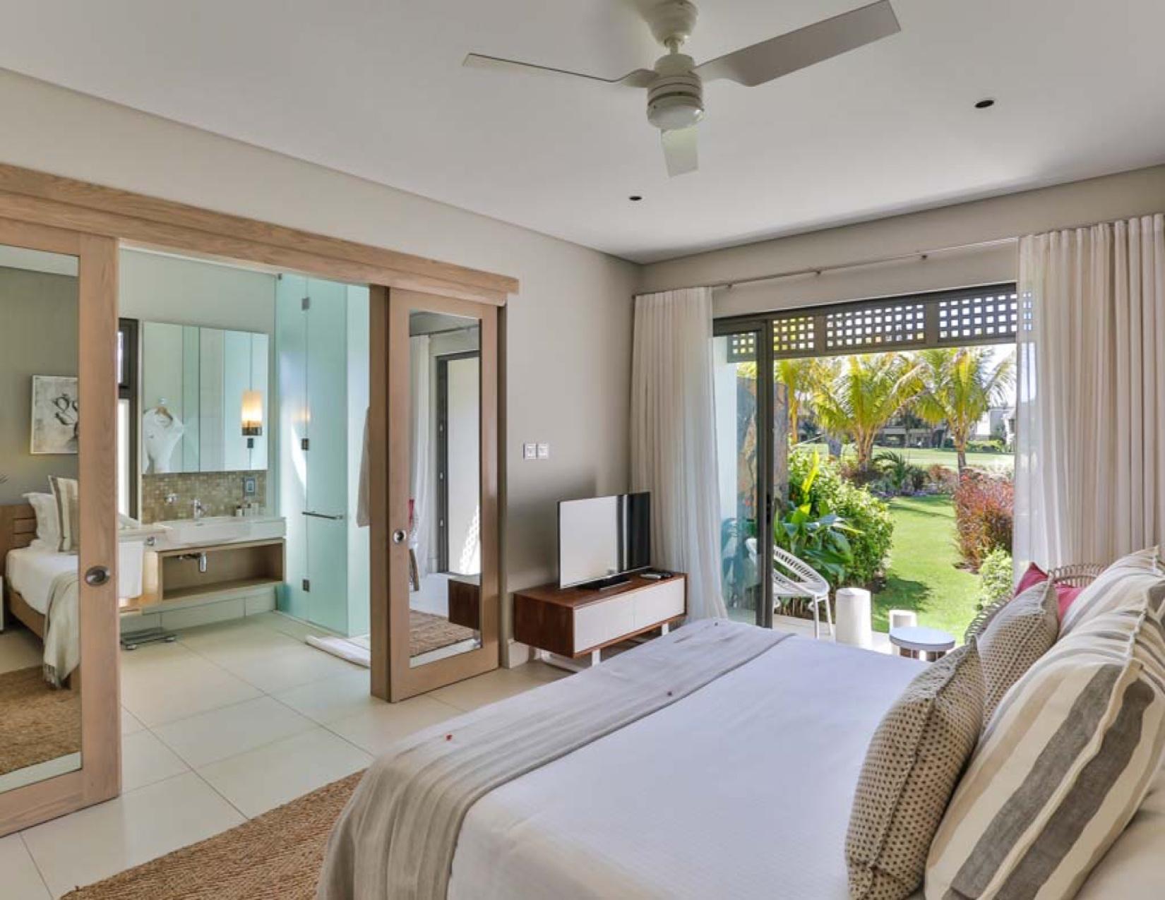 Villas jumelées en bordure des trous 8 et 9 du golf signature d'Anahita