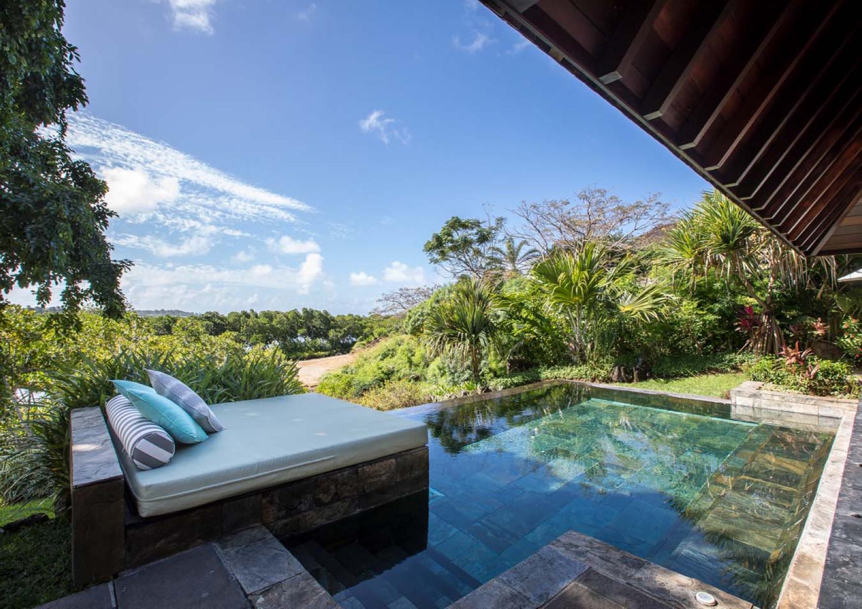 île Maurice - Superbe villa Four Seasons d'un style architectural contemporain