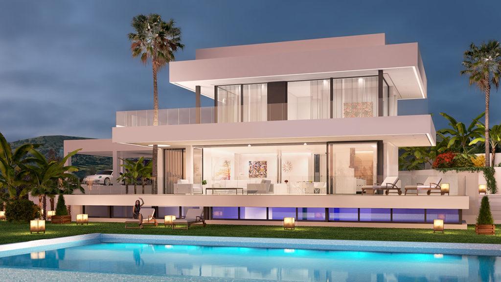 Magnifique villa de nouvelle construction près de Puerto Banus - Espagne