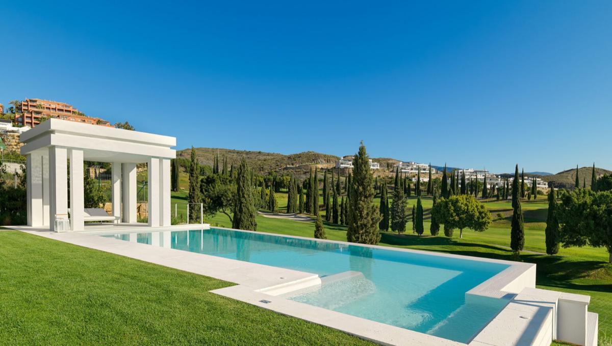 Villa de style contemporain avec vue dégagée Los Flamingos Marbella