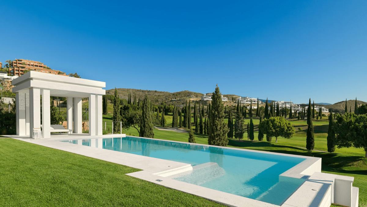 Villa de style contemporain avec vue dégagée  Los Flamingos