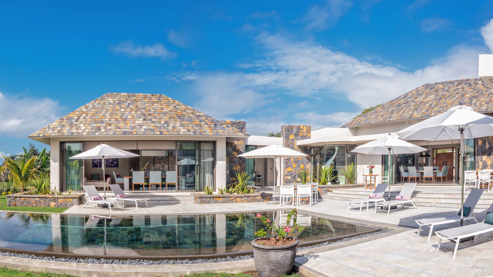 Somptueuse villa de 450 m2 sur un terrain de 2200 m2 île Maurice