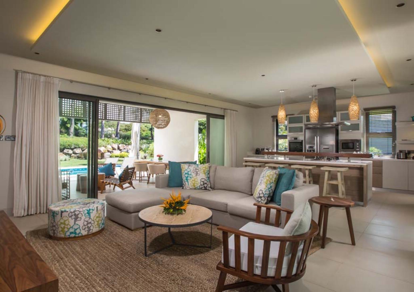 villa à vendre quartier Amalthea dans le complexe Anahita à Beau Champ