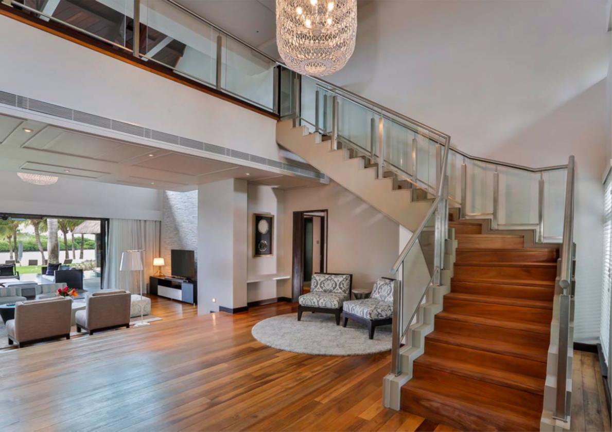 le Four Seasons Resort abrite une superbe villa de style contemporain.|||||||||||||||||||||