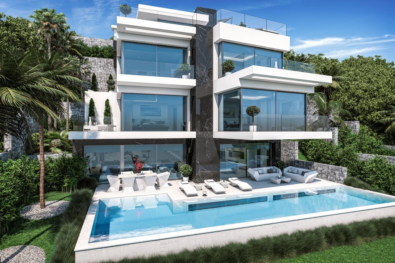 Maison de luxe 5 chambres en vente à Javea, Espagne
