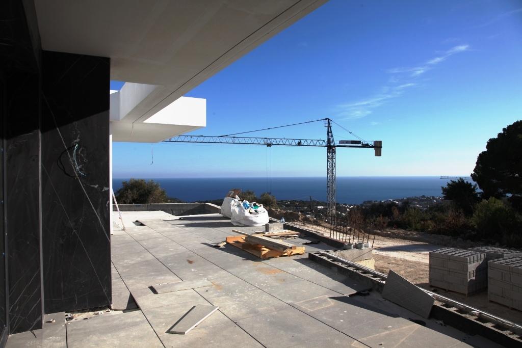 Villa moderne 4 chambres 5 salle de bain vue panoramique sur la mer