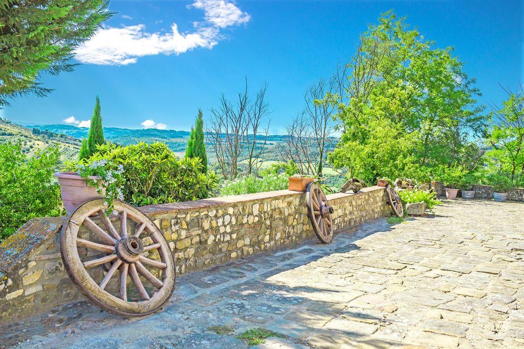 Ferme à vendre dans le Chianti 1200m2 Toscane, entre Florence et Sienne