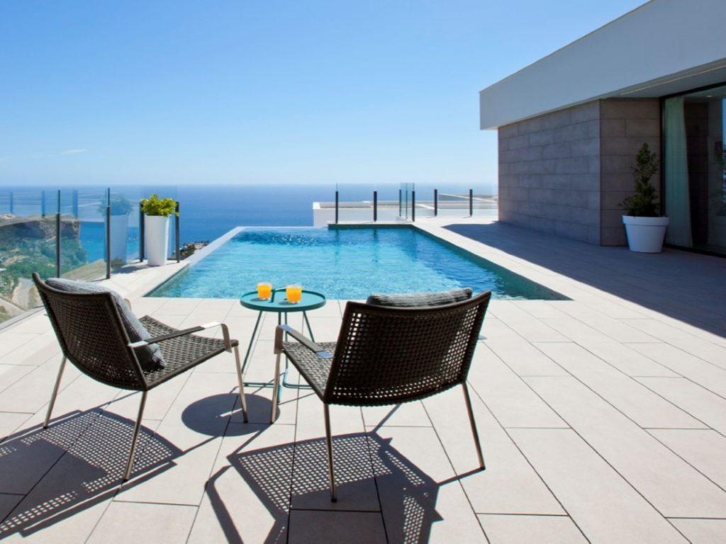 Villa vue fantastique sur la mer et des levers de soleil uniques