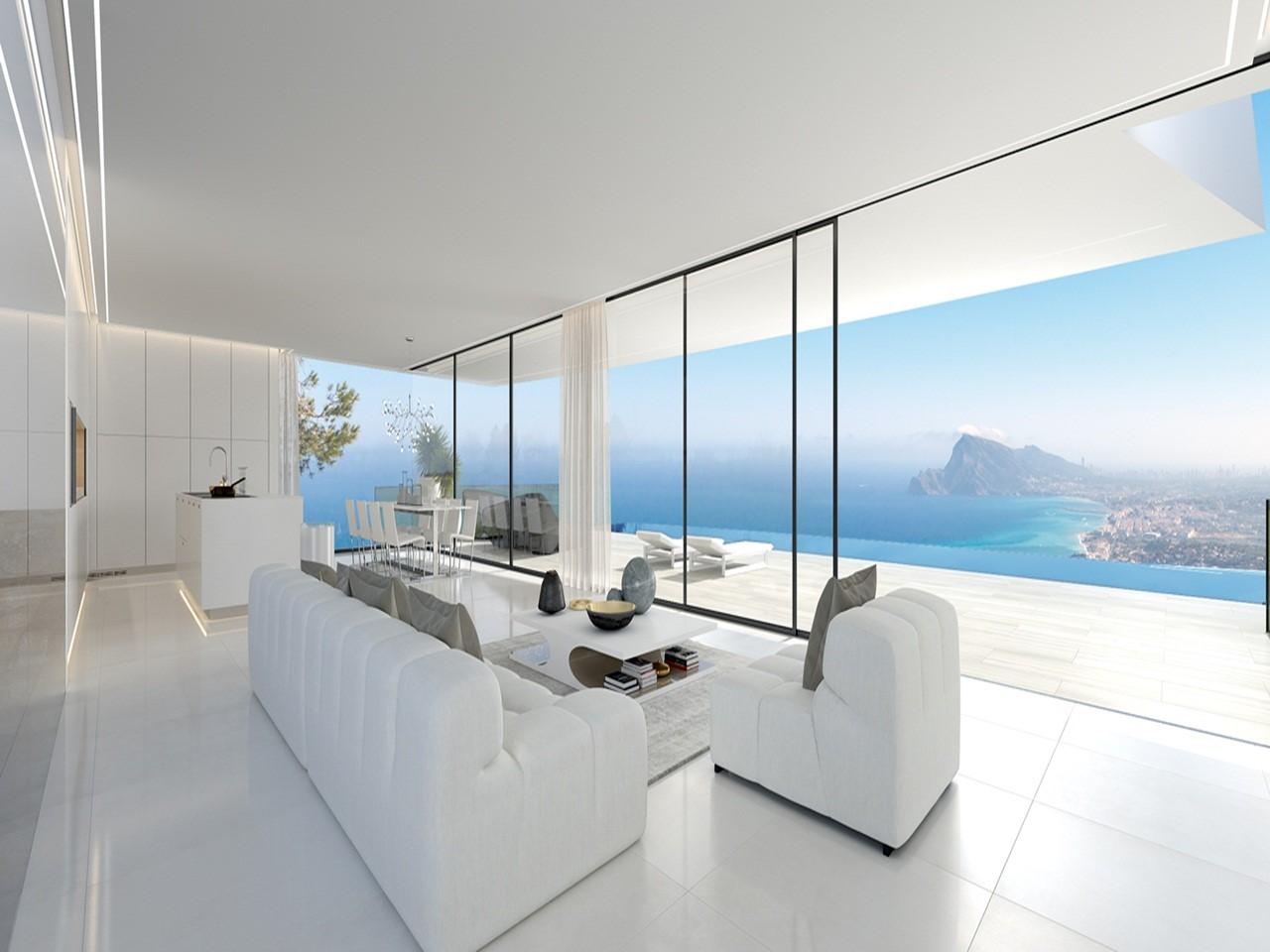 Villa de style moderne de 4 chambres - Costa Blanca - Altea - Espagne