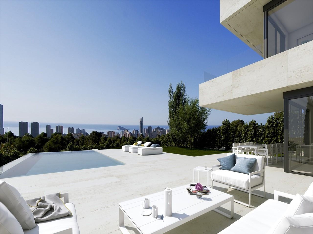 Villa de luxe de 4 chambres en vente Finestrat, Espagne