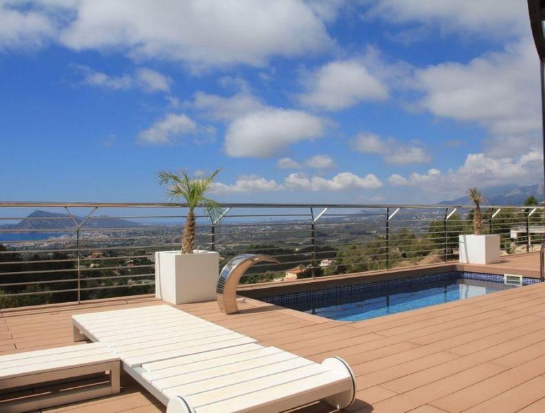 Maison de luxe de 3 chambres en vente Altea Espagne