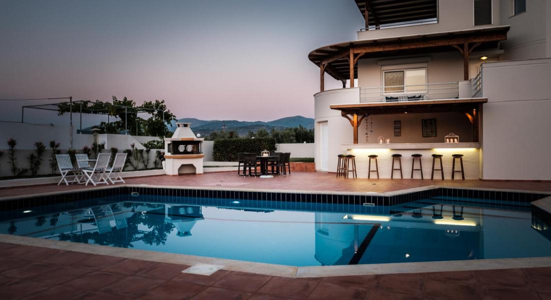 Villa 3 chambres, piscine et vue sur la mer