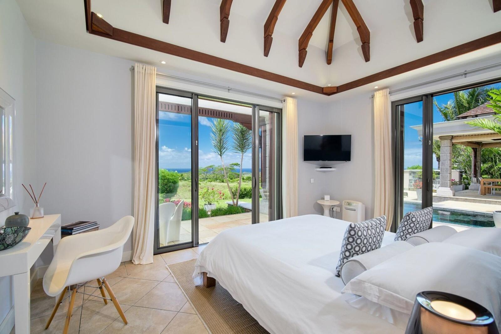 Somptueuse villa de 4 chambres offre un style de vie inégalé - île Maurice