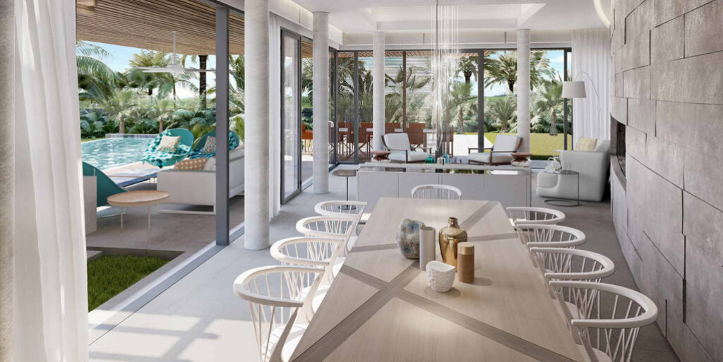 à vendre à l'est de l'île Maurice.|Villa 4 chambres accès golf et vues imprenables