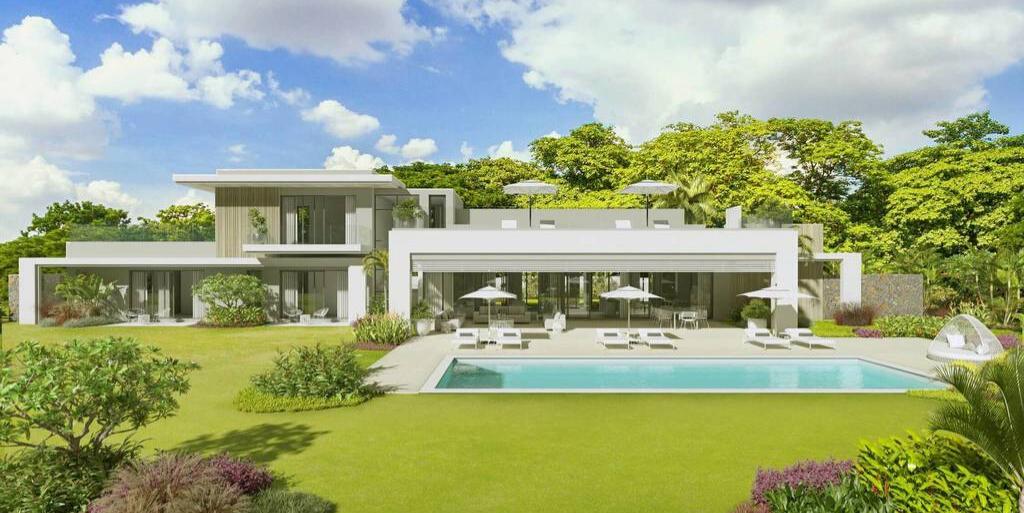 Villa de luxe de 4 chambres en vente Beau Champ - île Maurice