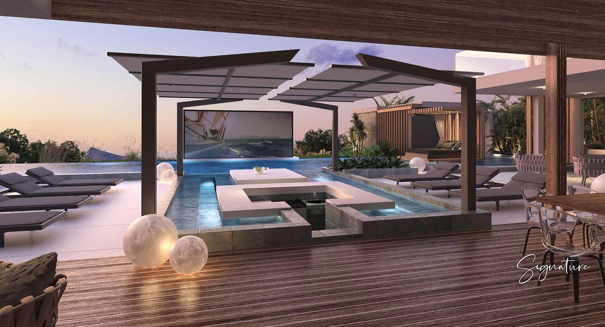 Villa de luxe de 15 pièces en vente Cap Malheureux