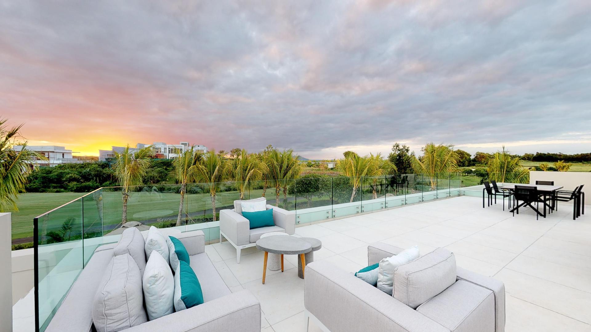 Villa Horizon design moderne île Maurice|||