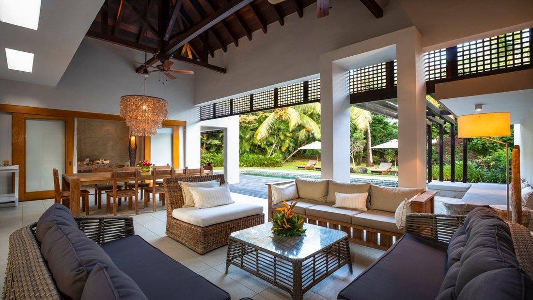 Architecture contemporaine villa de 4 chambres - île Maurice