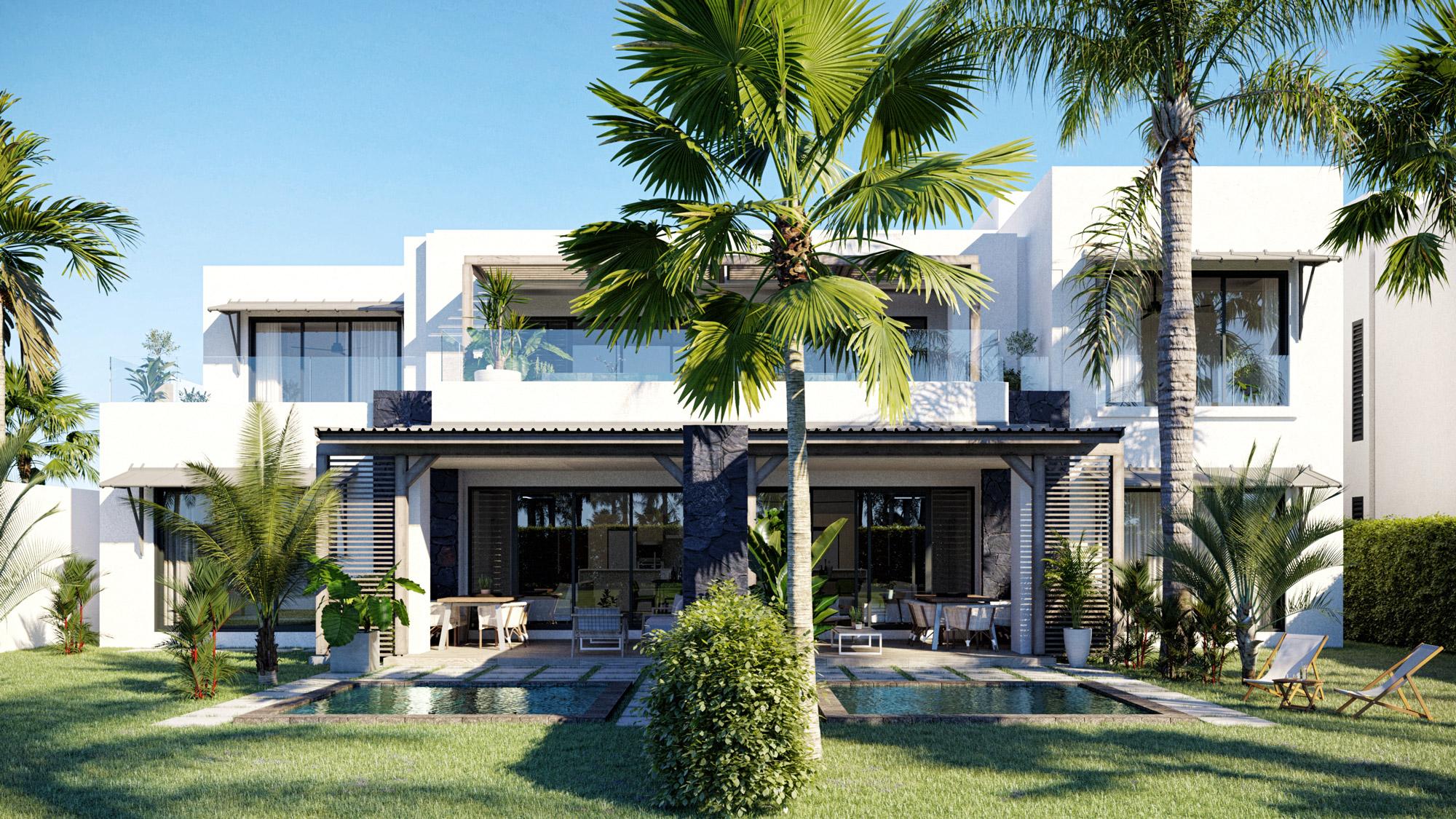 Appartements Et Penthouses À Vendre|Azuri Ocean & Golf Village : Villas De Luxe À Vendre À L'Ile Maurice||||||||||
