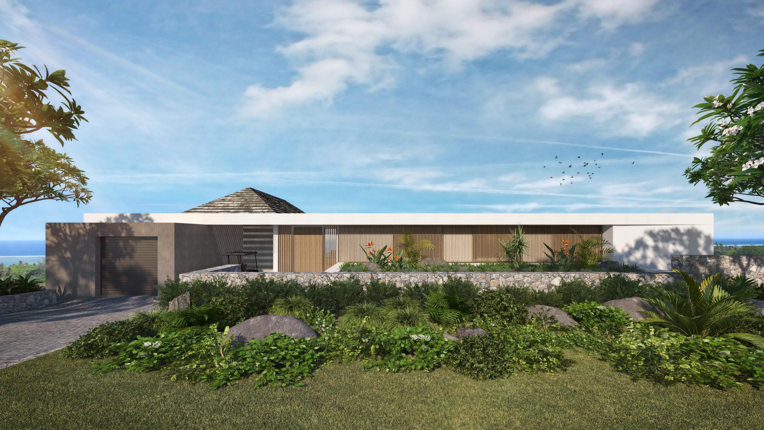 Villas Contemporaines Architecte Greg Scott de Scott + Partners
