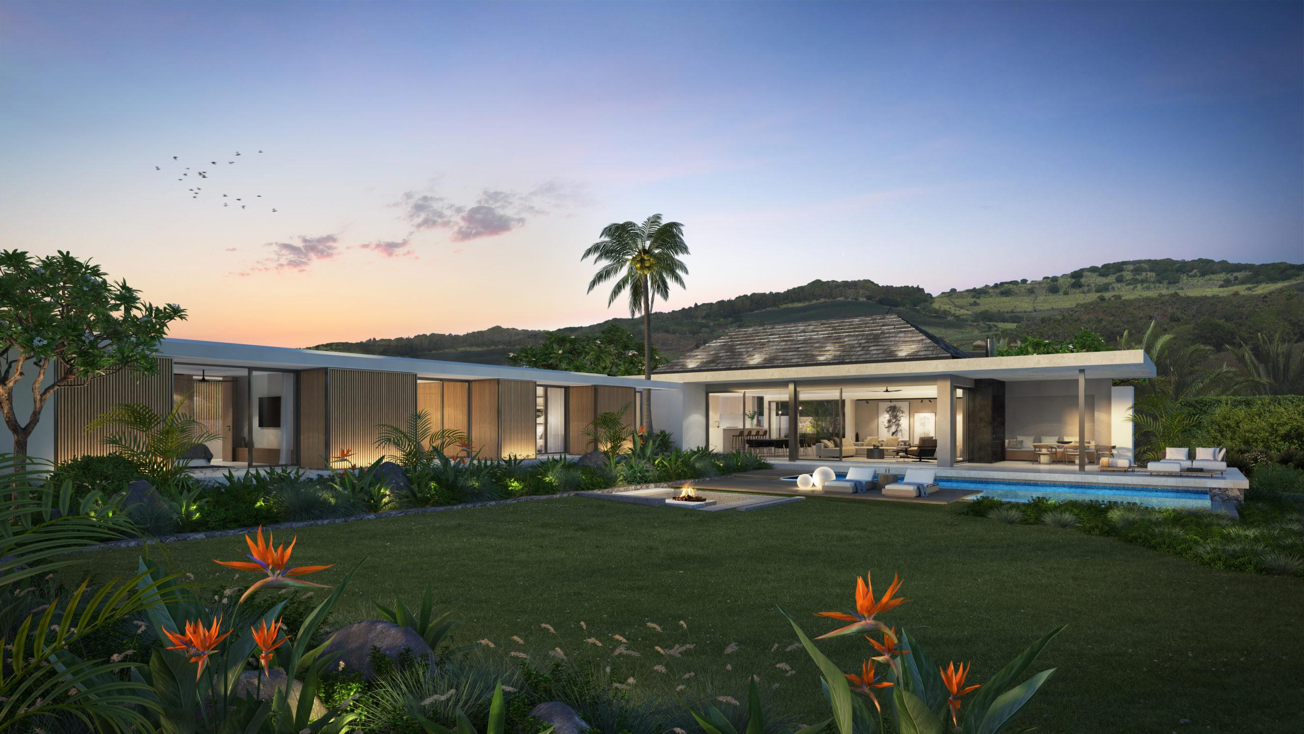 Villa plain-pied en L 3 chambres dotée d'une terrasse privée