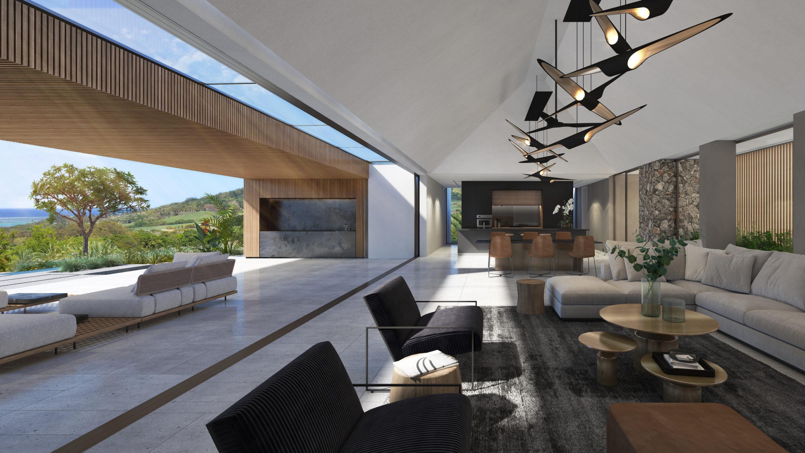 en Afrique .||||Grande Villa 4 chambres avec terrasses couvertes île Maurice