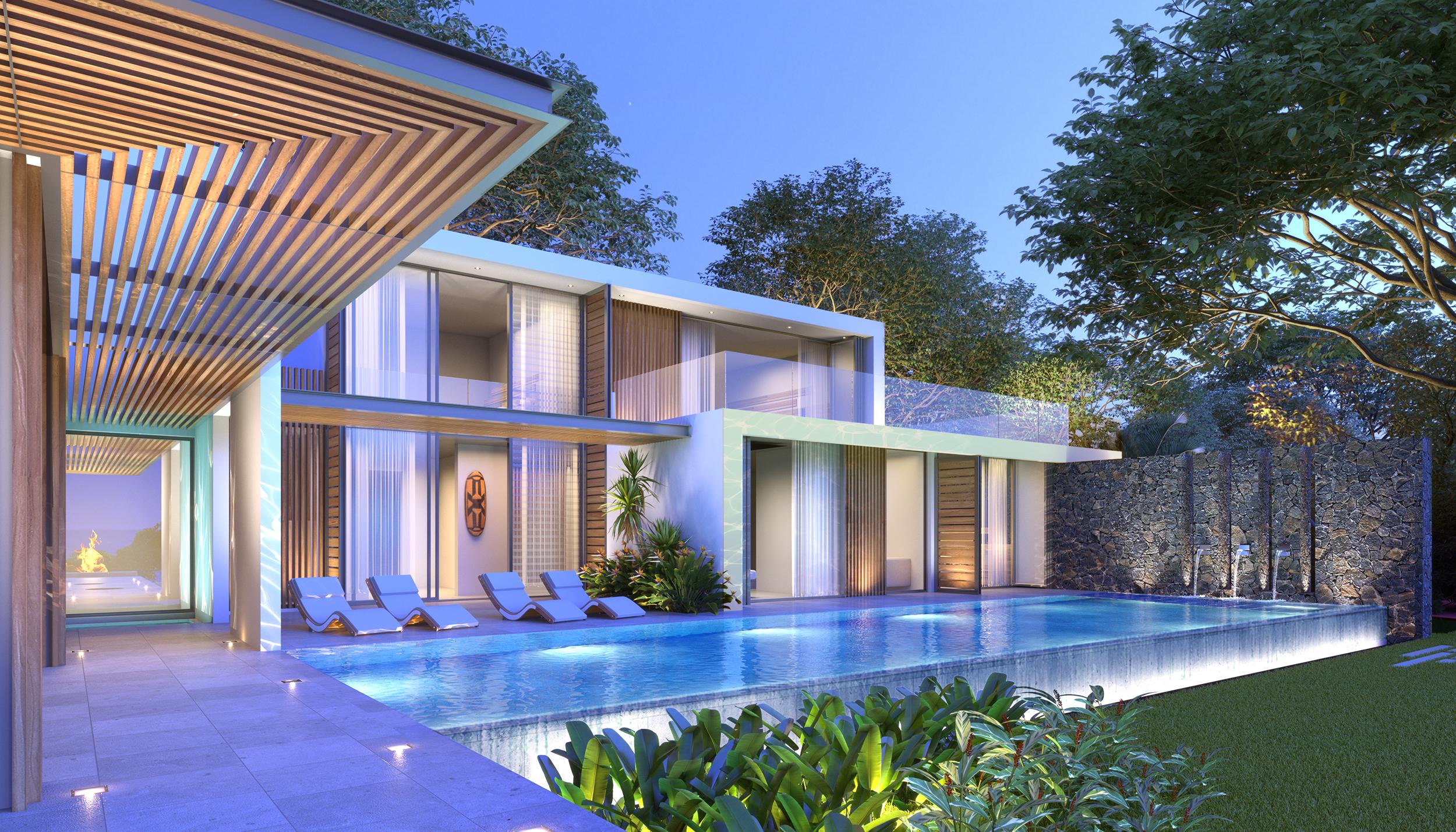 Villa d'Architecture contemporaine personnalisables