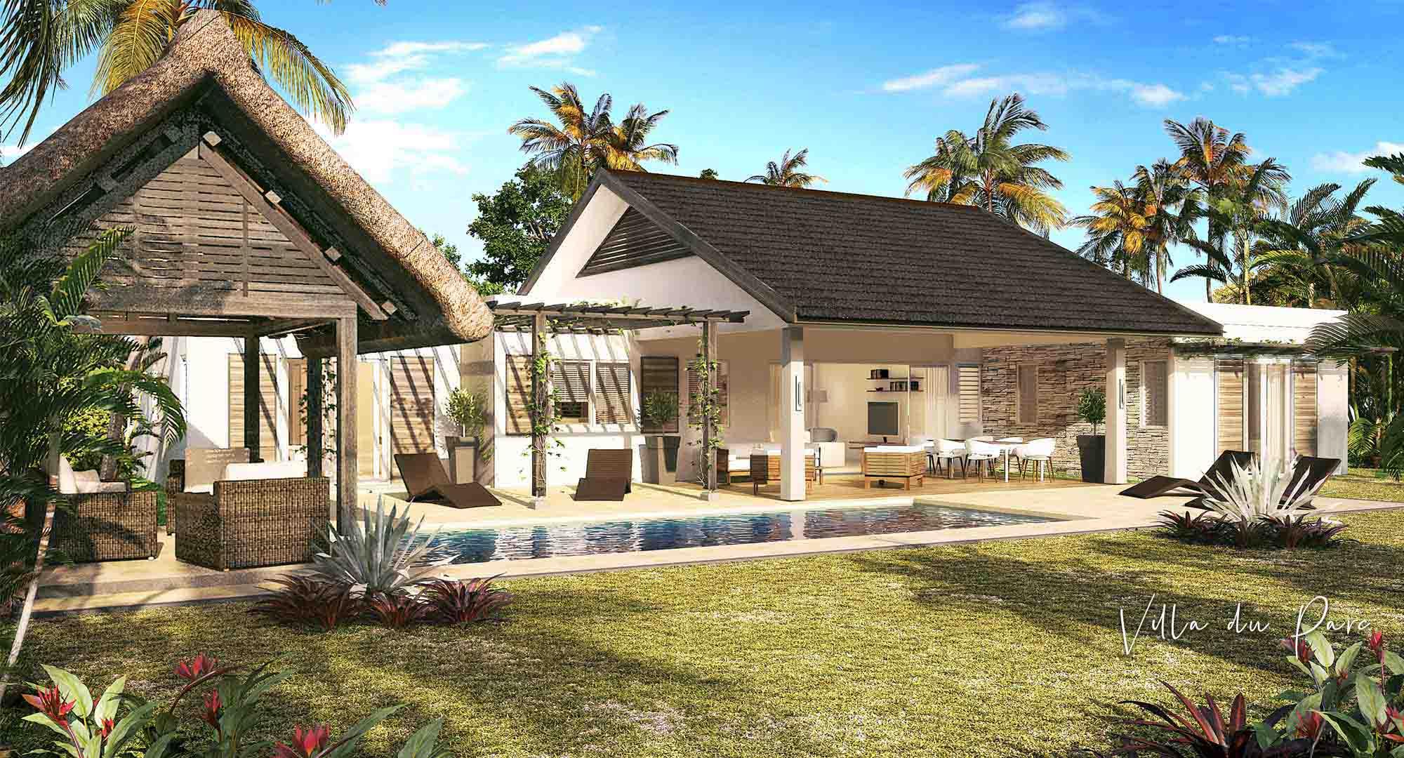 Les Villas du Parc : un style épuré et contemporain Île Maurice