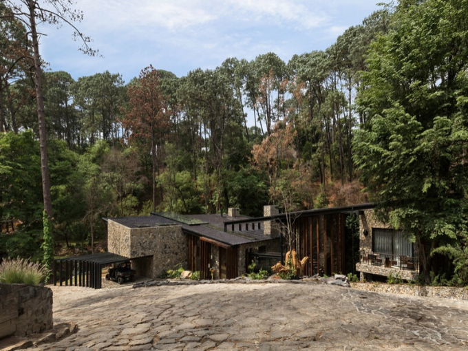 RIVER HOUSE PAR LUCIANO GERBILSKY ARCHITECTE