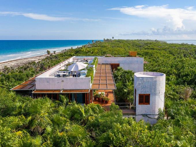 Située sur la Riviera Maya à Quintana Roo (Mexique)