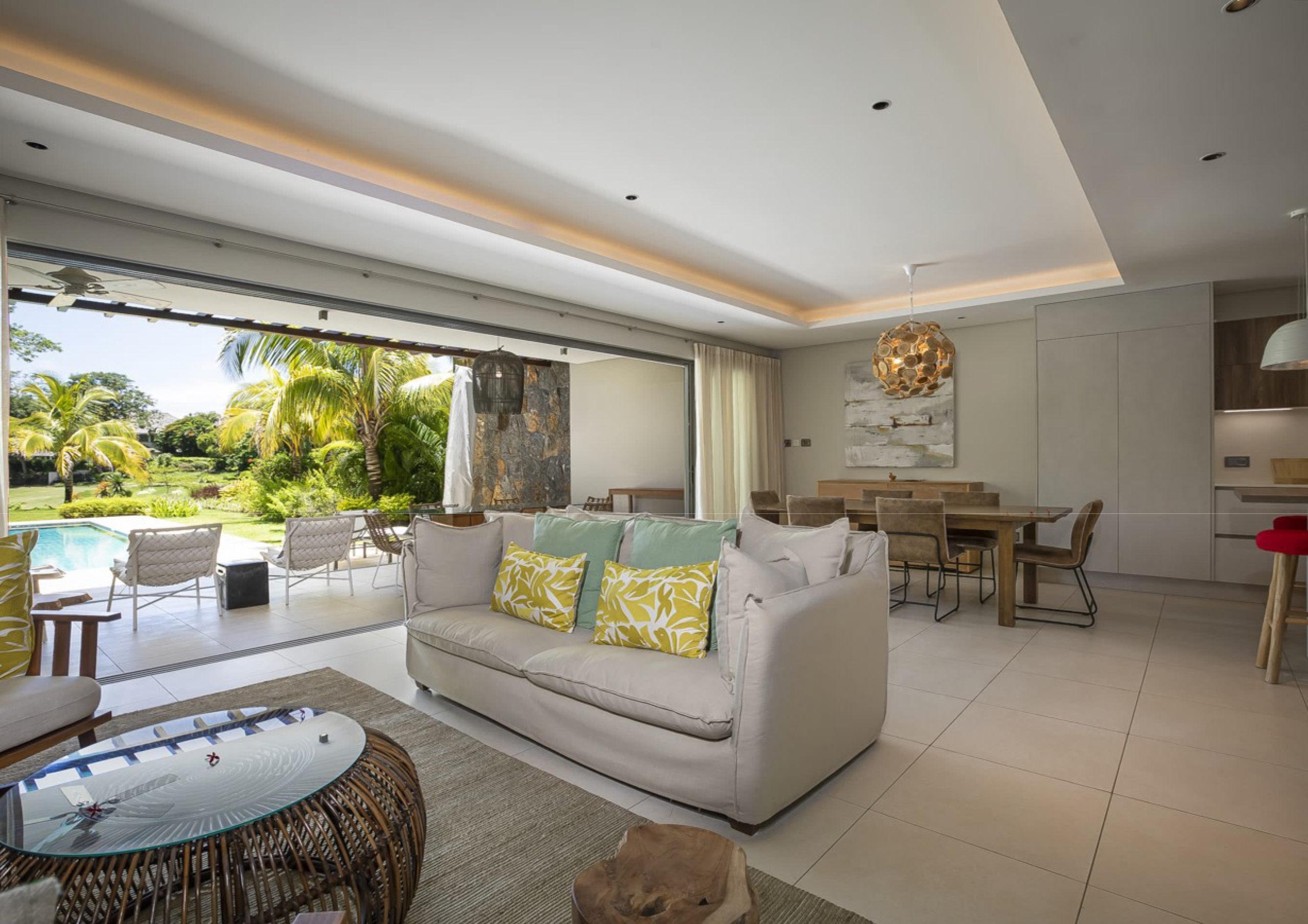 Villa accessible aux étrangers - Beau Champ - Villa jumelée IRS 3 chambres