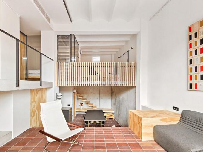 Le studio d'architecture Mas-aqui a transformé un appartement à Barcelone