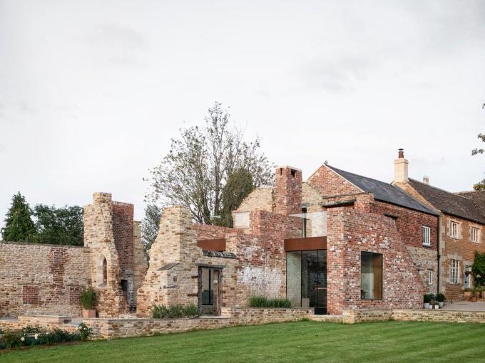 Recyclage des constructions en briques au Royaume-Uni: 14 restaurations et extensions de bâtiments