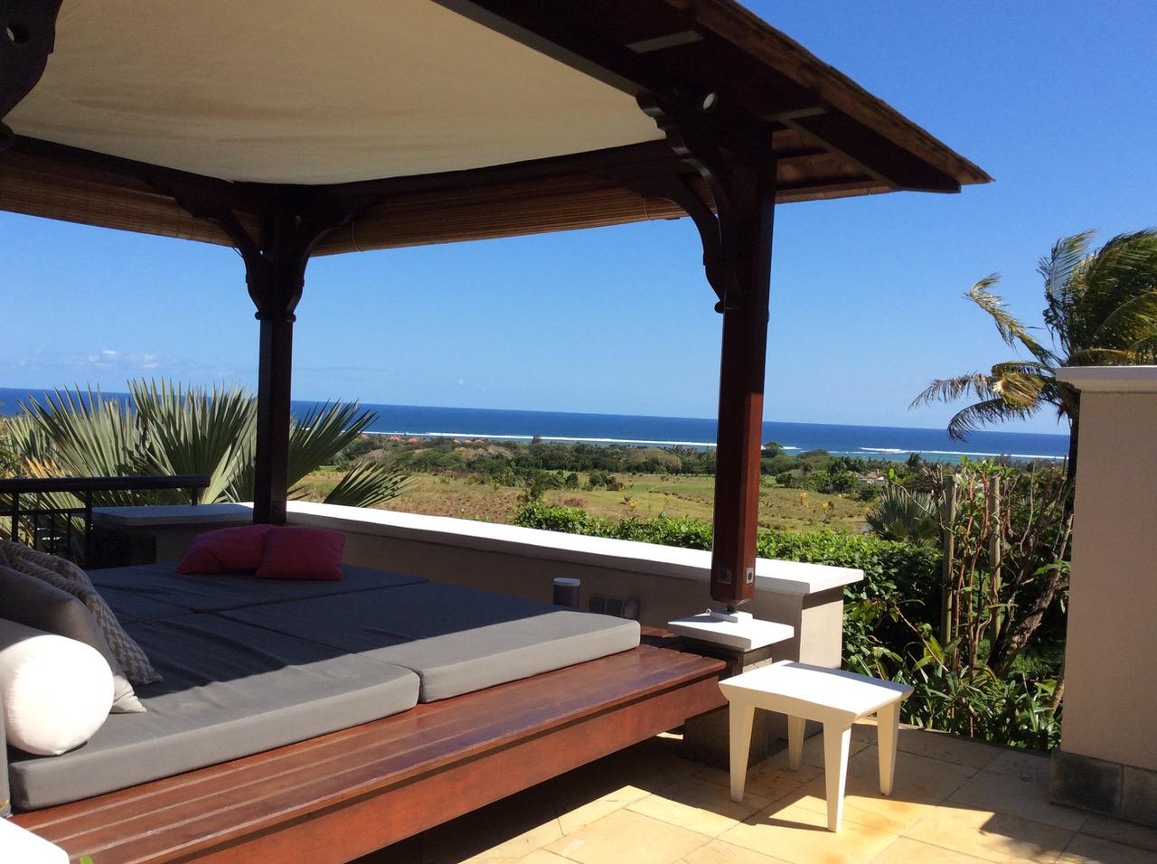 Villa de prestige à l'île Maurice vue sur l'Océan Indien
