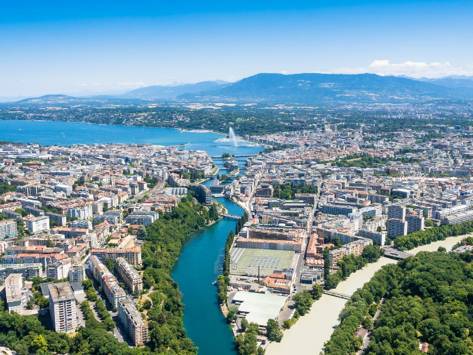 Elegance in the Alps on the Shores of Switzerland's Lake Geneva