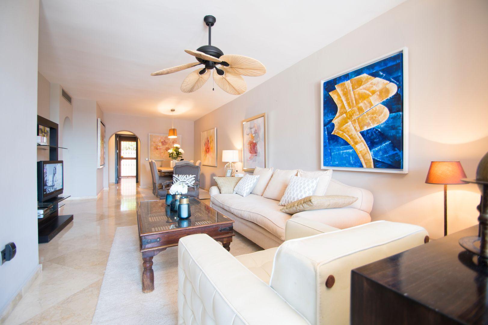 Marbella|Appartement à vendre dans l'urbanisation Guadalmina Alta