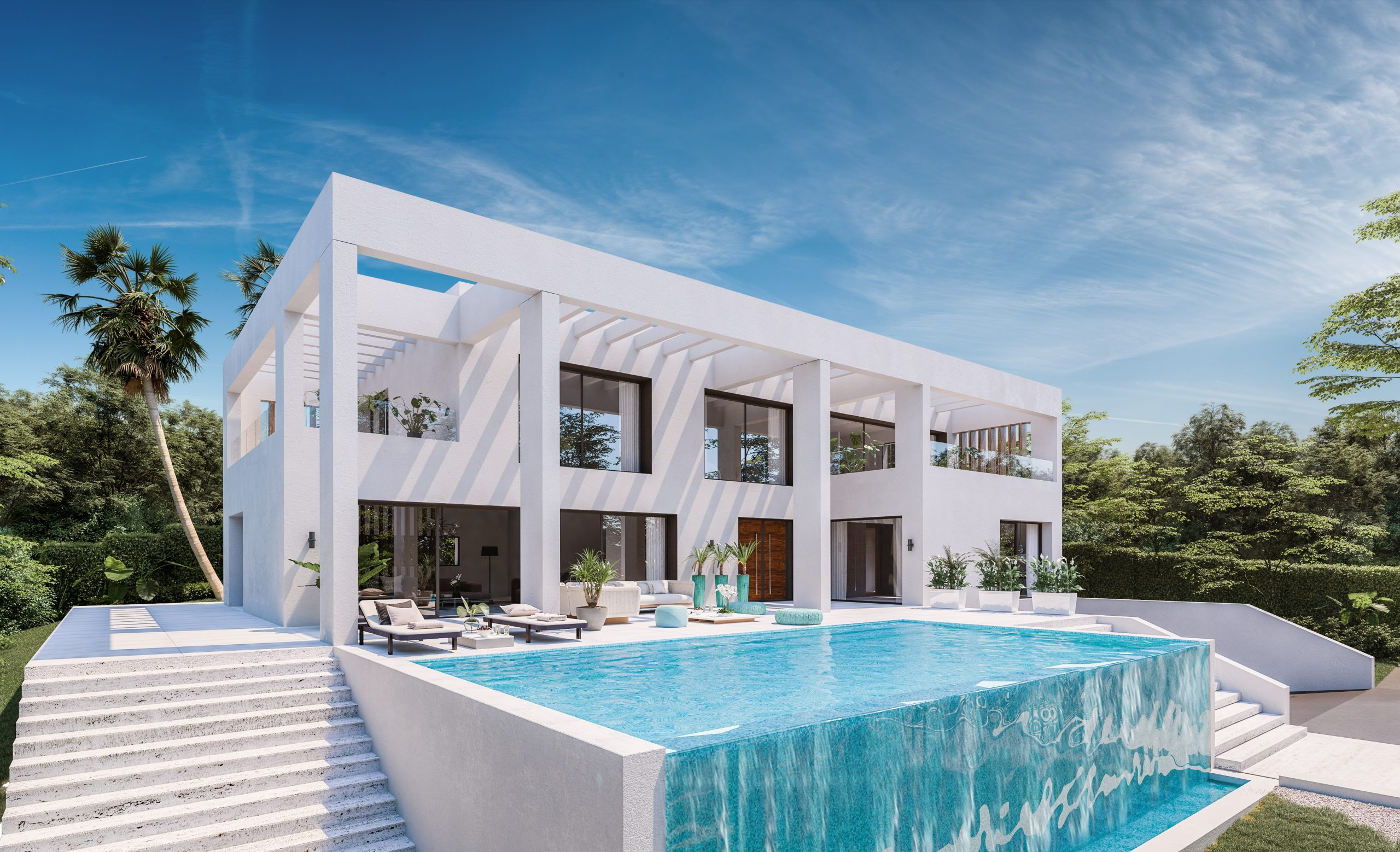 Benalmadena Immobilier-Swiss.ch Projet d'habitation modulaire en béton          