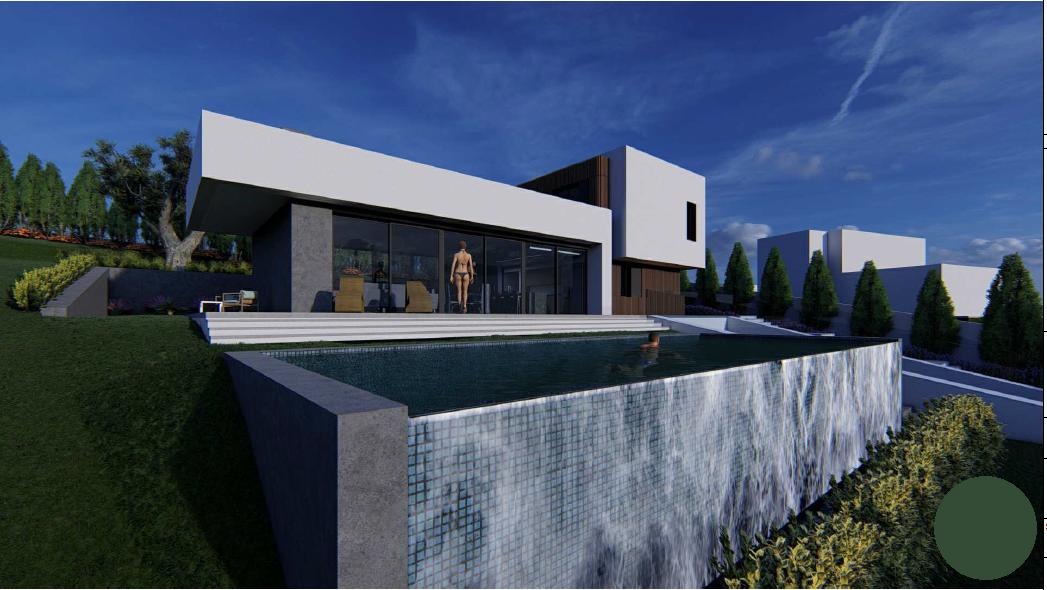 Esta villa está diseñada con estilo arquitectónico contemporáneo