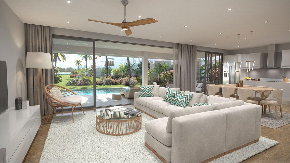 Appartement Penthouse en Duplex ile maurice maison appartement villa bord de mer1