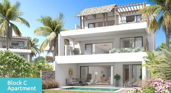 Appartement Penthouse en Duplex ile maurice maison appartement villa bord de mer0