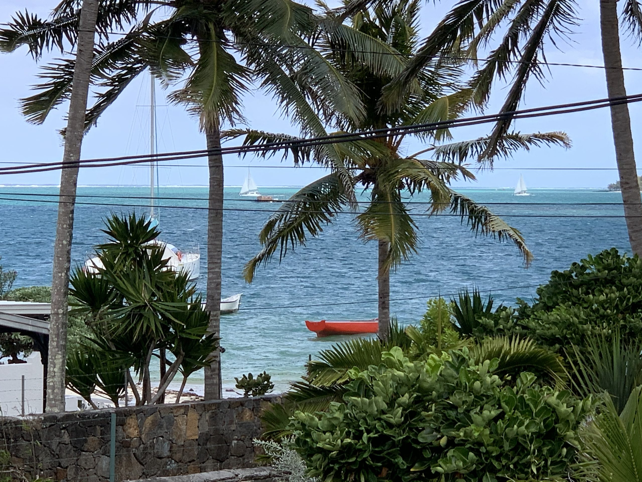 Propriété pieds dans l'eau à vendre à l'île maurice Trou D'Eau Douce|||||||||
