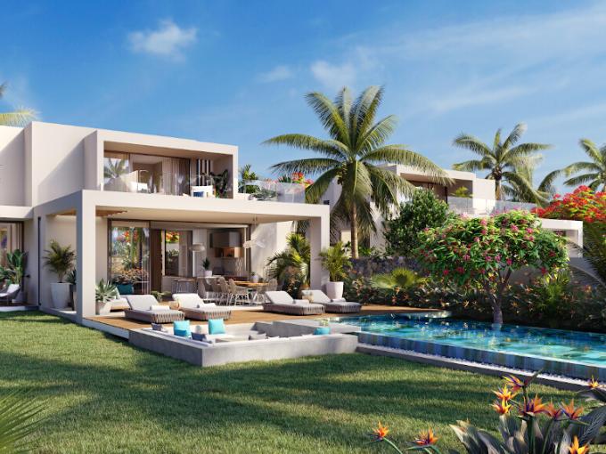 Anahita Ile Maurice est un programme immobilier avec des appartements et des villas et de luxe à vendre en pleine propriété.