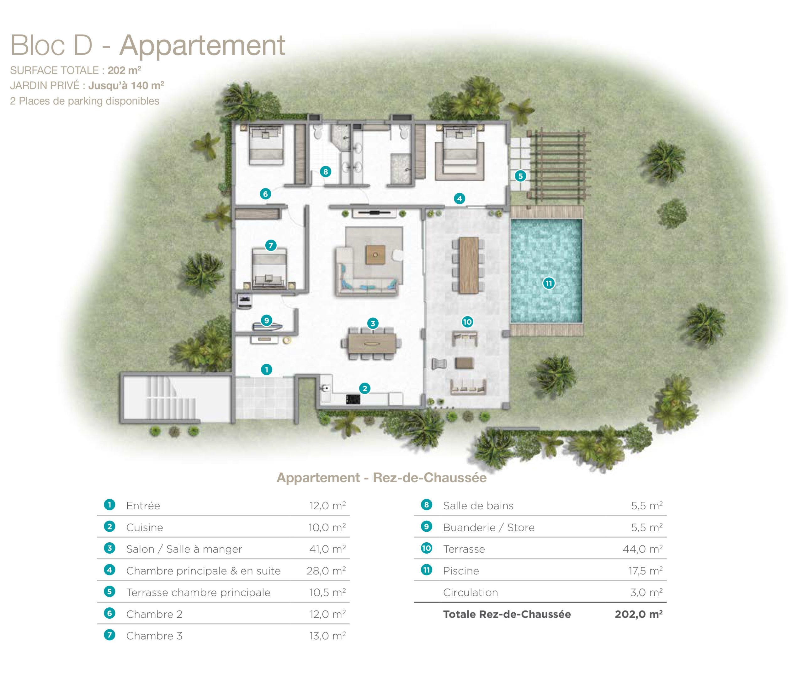 Exceptionnel Appartement de 168m2 en bord de mer | Avantages Fiscaux